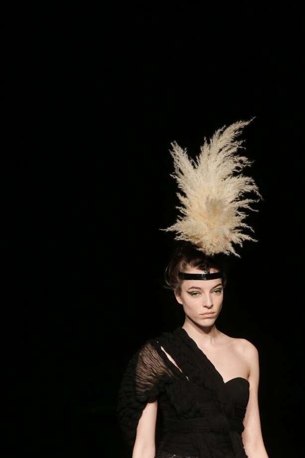 More feather headdresses. Photo: Victor Boyko, Getty Images