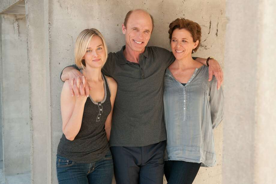 "Among the stars in ""The Face of Love"" are Jess Weixler (left), Ed Harris and Annette Bening. Photo: IFC Films"