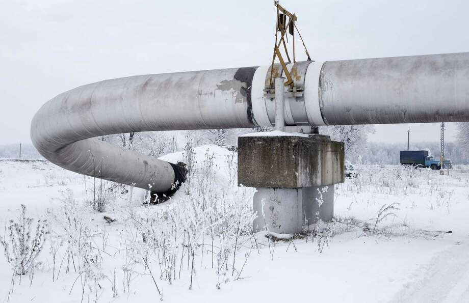 The Urengoy-Pomary-Uzhgorod pipeline, also known as the Trans-Siberian Pipeline, is Russia's main channel for exporting natural gas. The United States — with Texas — can replace the energy Russia ships to Europe. Photo: Vincent Mundy / Bloomberg / © 2014 Bloomberg Finance LP, All Rights Reserved.