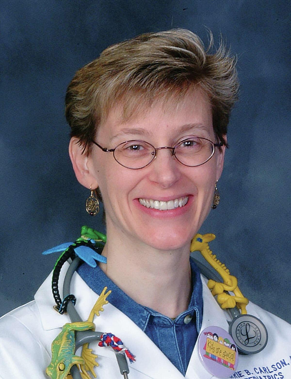 "Dr. Carolyn Carlson is a pediatrician who enjoys all things ""creepy crawly."""