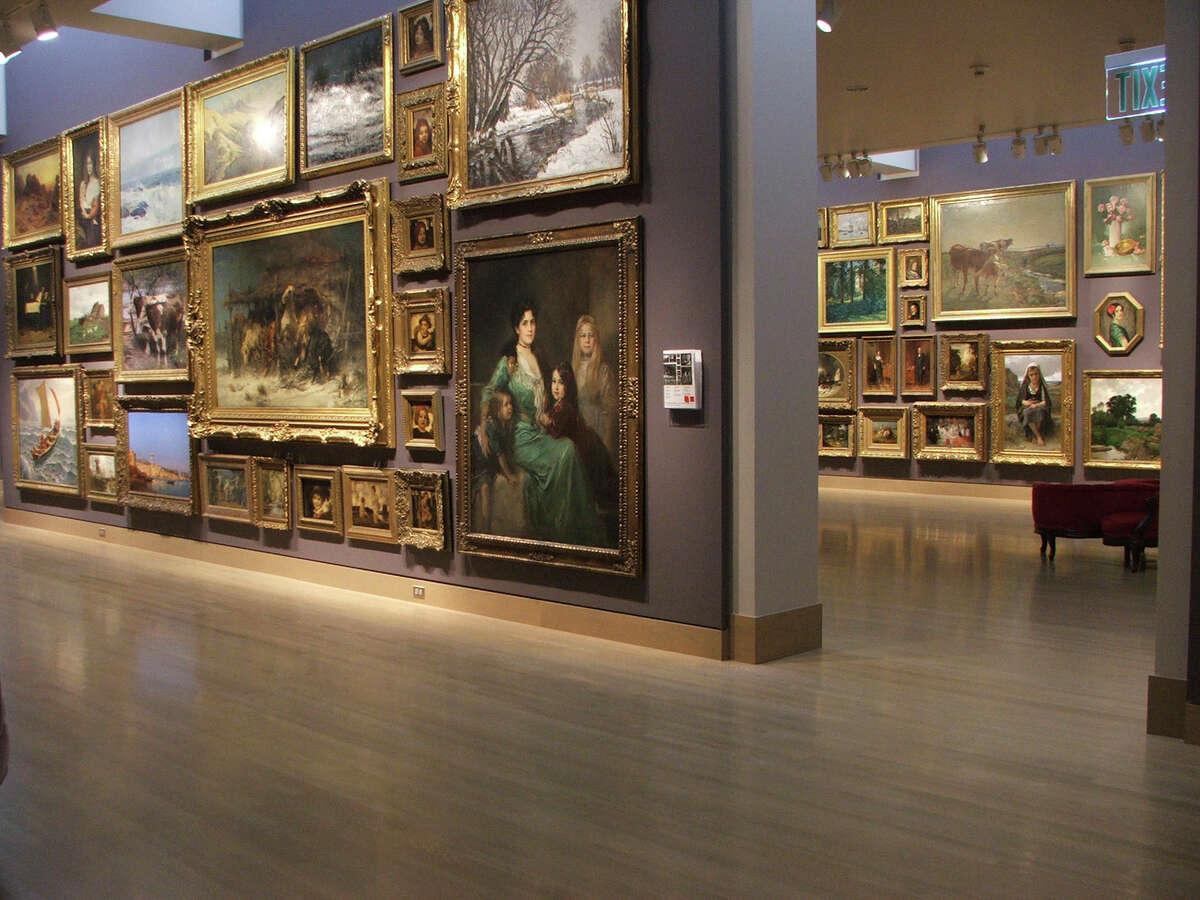 Gallery of the Frye Art Museum.