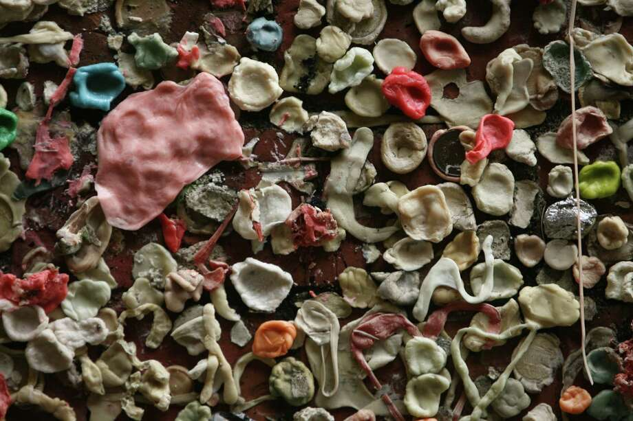 Go: Gum wallWhile you're at Pike Place or headed to an Unexpected Productions show, contribute to the gum wall. Bring hand sanitizer. Photo: Mike Urban, Seattlepi.com File Photo / Seattle Post-Intelligencer