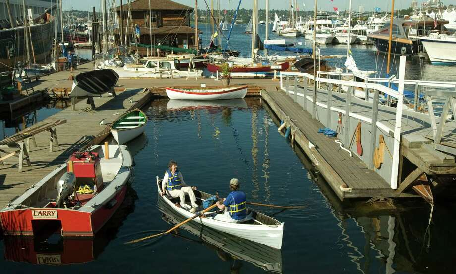 Go: Center for Wooden BoatsFor the maritime history fanatics, the Center for Wooden Boats on Lake Union has more than 100 historically significant vessels. Rent a boat to paddle or go on an interpretive tour of Lake Union. Then, what the heck, check out the Museum of History and Industry next door. Photo: Seattlepi.com File Photo