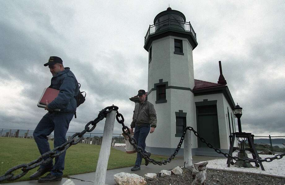 Go: Alki Point LighthouseNow this is an Alki destination we can get behind. You might have to drive through Alki Beach traffic to get there on a summer day, but it offers great views with fewer bros. Photo: PAUL JOSEPH BROWN, Seattlepi.com File Photo