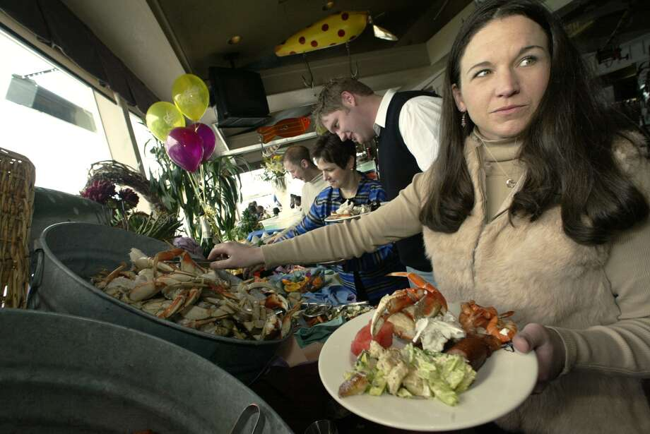 Trap: Salty's This West Seattle standard lures people with its views and schmanciness, but it's expensive. Photo: JIM BRYANT, Seattlepi.com File Photo