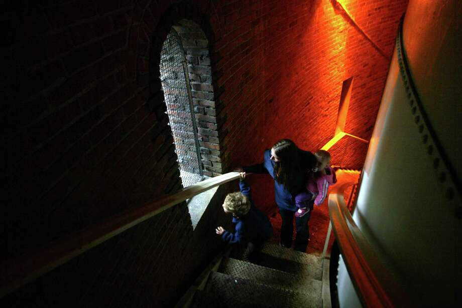 Go: Volunteer Park water towerWant Space Needle-caliber views for free? Head to Capitol Hill's Volunteer Park and summit the water tower. Then enjoy the surrounding park. Photo: KAREN DUCEY, Seattlepi.com File Photo