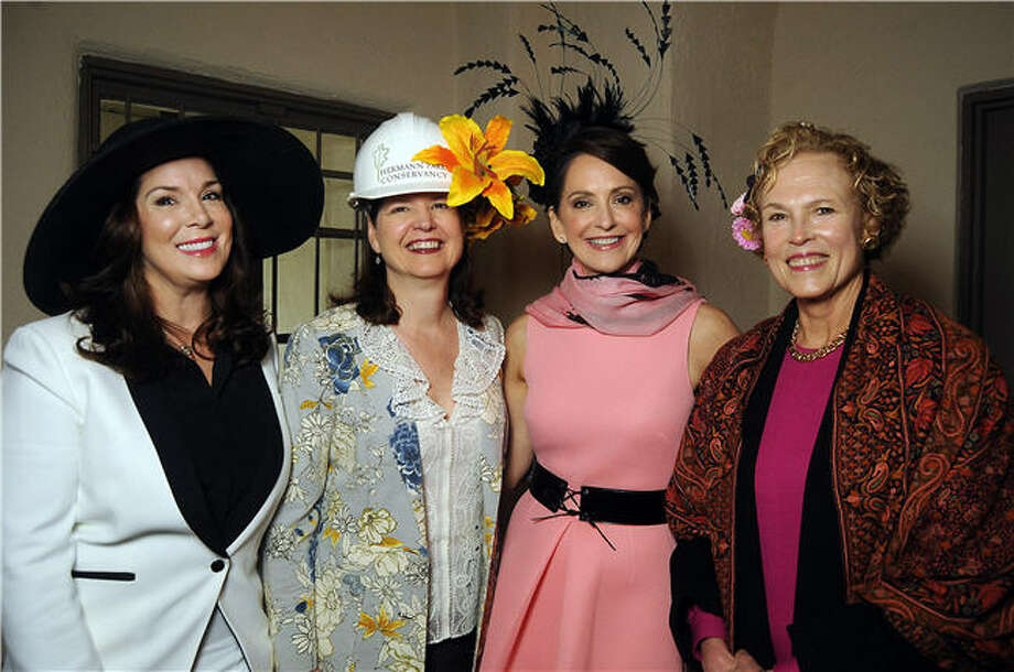 SocietyHats01.JPG From left: Honoree Cherie Flores, Doreen Stoller, chair Laurie Morian and Ann Kennedy Photo: Dave Rossman, For The Chronicle