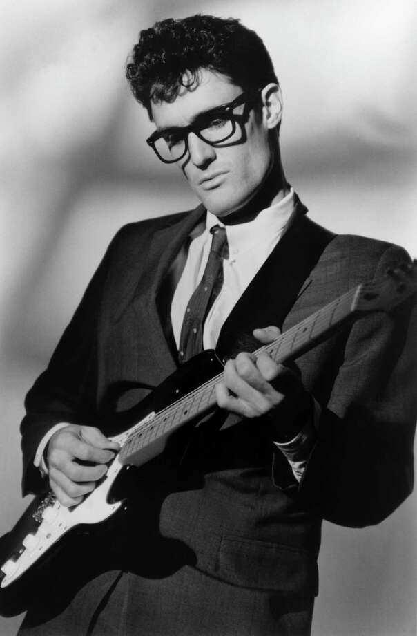 Los Angeles actor/musician John Mueller portrays Buddy Holly in four performances Friday, March 14, through Sunday, March 16, at the Downtown Cabaret Theatre in Bridgeport. Photo: Contributed Photo / Connecticut Post Contributed