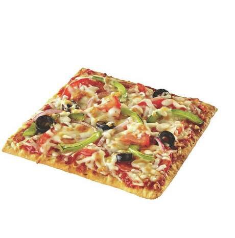 Veggie Flatizza at Subway Photo: --