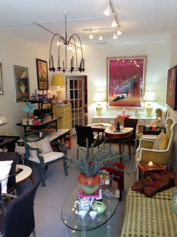 Some of the furnishings on display at Danise Talbot Interiors, a new retail  shop and design service that has opened on Riverside Avenue. Photo: Contributed, Westport News/Contributed Photo / Westport News