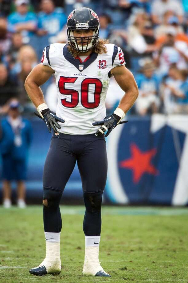 Bryan Braman  2013 team: Houston Texans   Age: 26  2013 stats: 8 tackles Photo: Smiley N. Pool, Houston Chronicle