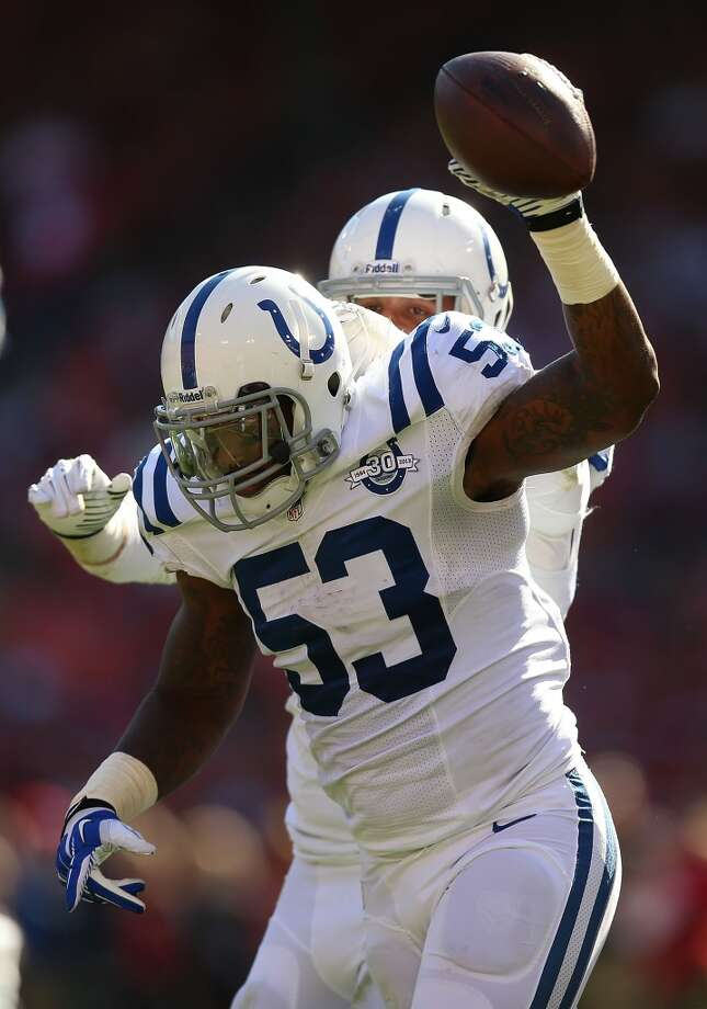 Kavell Conner  2013 team: Indianapolis Colts  Age: 27  2013 stats: 27 tackles Photo: Jed Jacobsohn, Getty Images