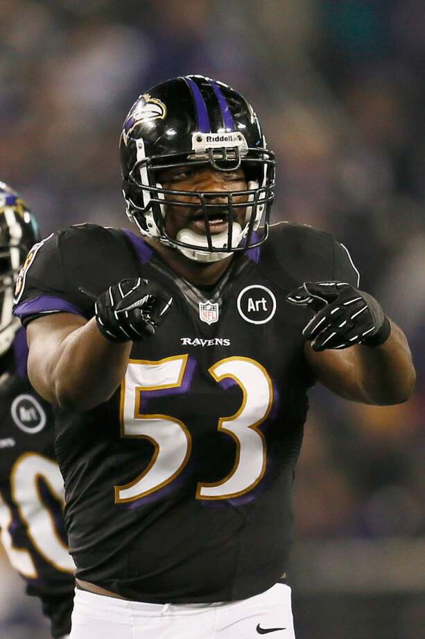 Jameel McClain  2013 team: Baltimore Ravens  Age: 28  2013 stats: 52 tackles, 1 forced fumble Photo: Rob Carr, Getty Images