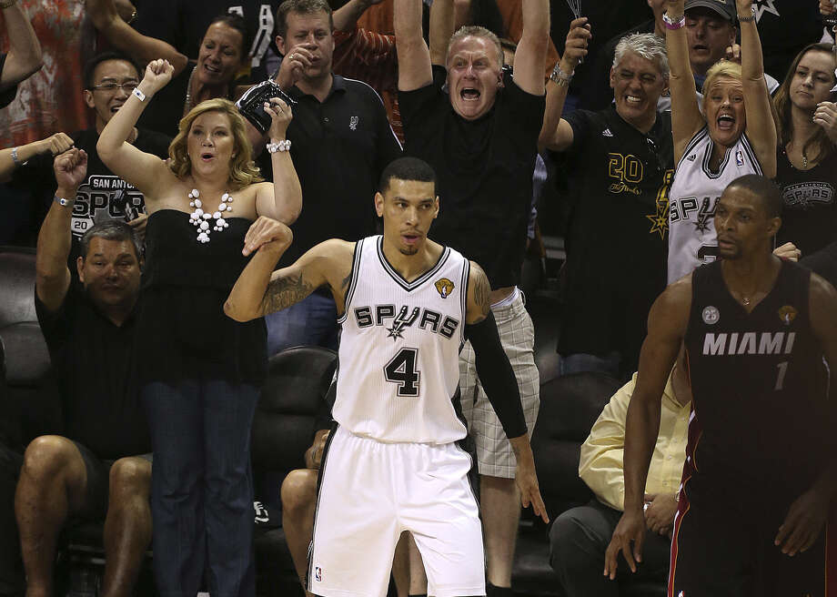 Danny Green set a Finals record for 3-pointers last June, but his defensive lapse in Game 6 haunts him. Photo: Jerry Lara, San Antonio Express-News / ©2013 San Antonio Express-News