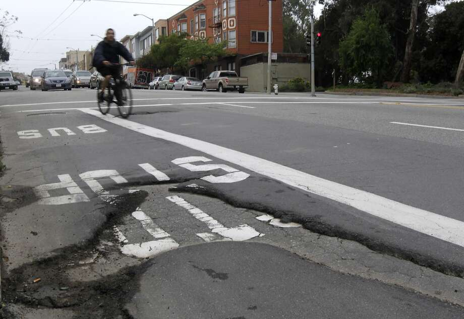 GALLERY Calif. cities where drivers pay the most in maintenance costs due to poorly maintained roads No. 1: San Francisco and Oakland, $1,049 per year Photo: Paul Chinn, The Chronicle