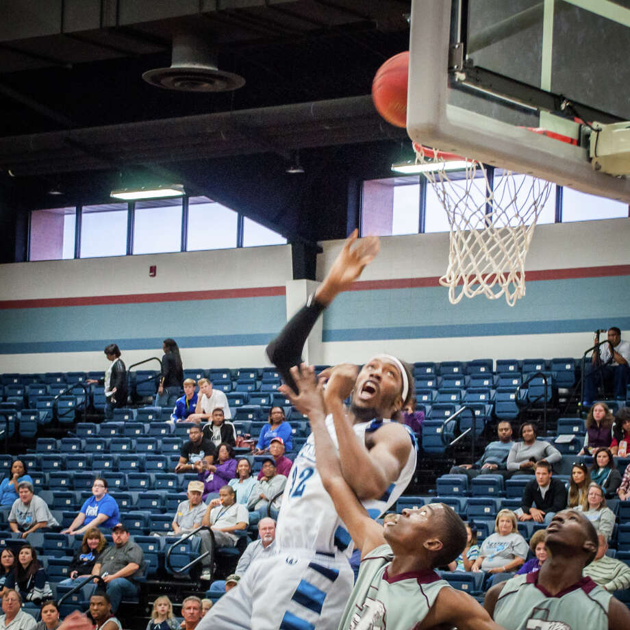 Lamar State College-Port Arthur's Anthony Allen rebounds the ball against TSU during a match up at Lamar State College-Port Arthur. Enterprise file photo Photo: Michael Reed / Michael Reed