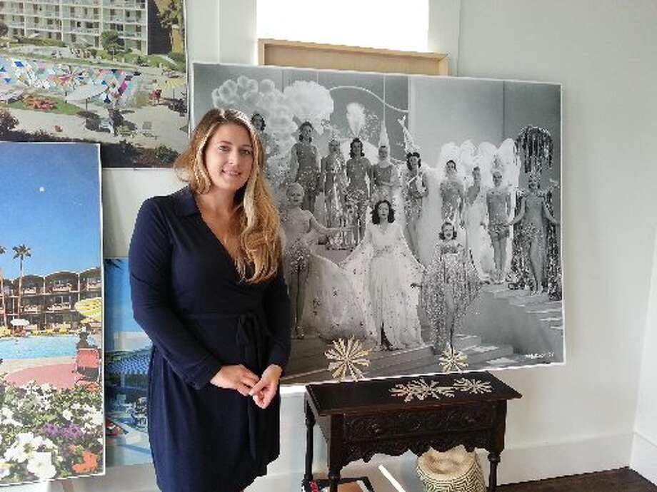 Kelly O'Connor in her studio. Photo: Emily Spicer, San Anonio Express-News