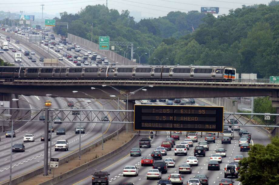 Drivers here wasted 25.2 hours in congestion in 2013. Photo: Barry Williams, Getty Images / 2005 Getty Images