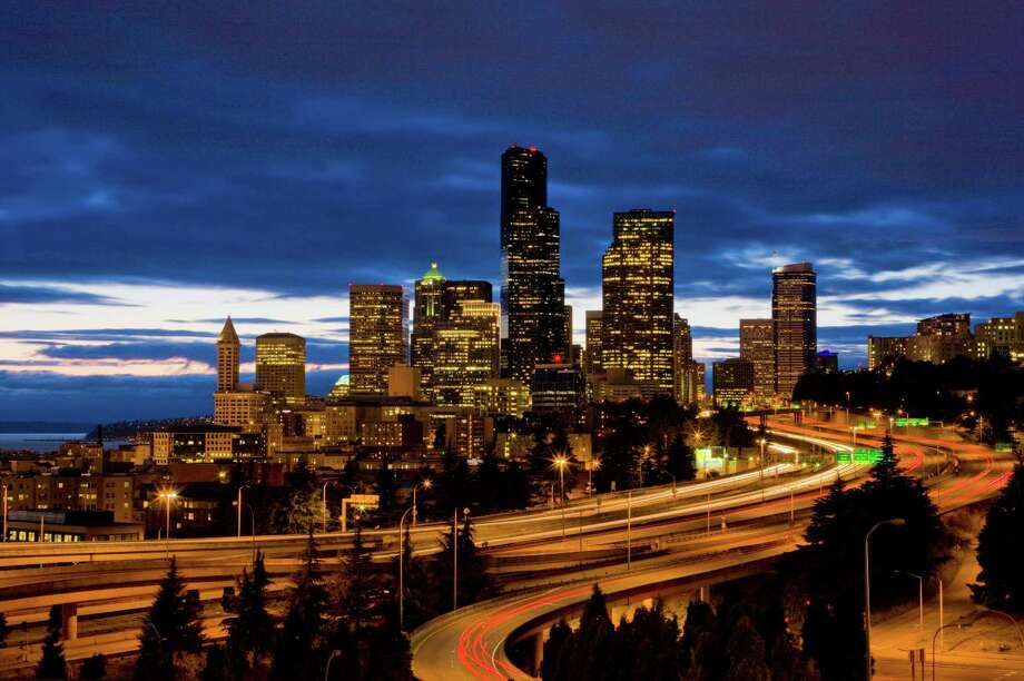 According to a study released by Kirkland, Wash.-based data firm INRIX, Seattle's traffic ranks in the top 10. Not the good top 10. Check out how the city fared compared to other American and Canadian cities.Note: The following areas are ranked in terms of their overall  congestion, not just hours wasted due to traffic jams. Photo: George Rose, Getty Images / 2011 George Rose