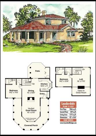 House plans for a panoramic view times union for Panoramic view house plans