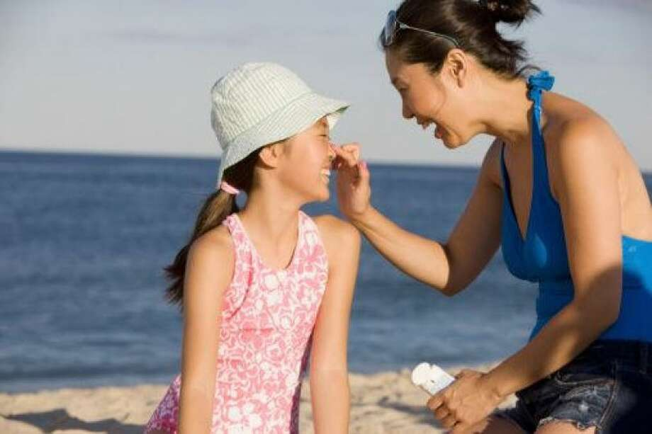 Dowear sunscreen: Even if you're working on that base tan. Even if you think you won't need it. The only thing worse than 95-degree heat is 95-degree heat when you're sunburned.