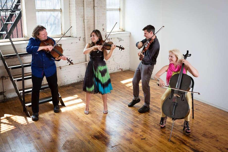 From left, Ralph Farris, Tema Watstein, Kip Jones and Dorothy Lawson are the members of ETHEL, which is set to perform in New Canaan, Conn., on Friday, March 14, 2014. The group is known for its innovative style and integration of multiple genres into its repertoire. For more information, visit www.silverminearts.org. Photo: Contributed Photo / Stamford Advocate Contributed