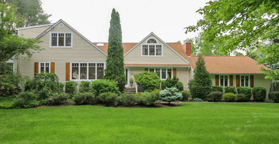 The house at 7 Bonnie Brook Lane is on the market for $1,675,000. Photo: Contributed Photo / Westport News