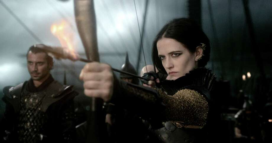 "Eva Green provides one of the lone bright spots in ""300: Rise of an Empire."" Photo: HOEP / Warner Bros. Pictures"