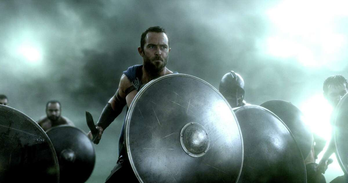 """This image released by Warner Bros. Pictures shows Sullivan Stapleton in """"300: Rise of an Empire."""" (AP Photo/Warner Bros. Pictures)"""