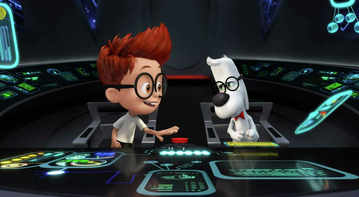 """The WABAC time-travel machine gets a makeover in """"Mr. Peabody & Sherman."""""""