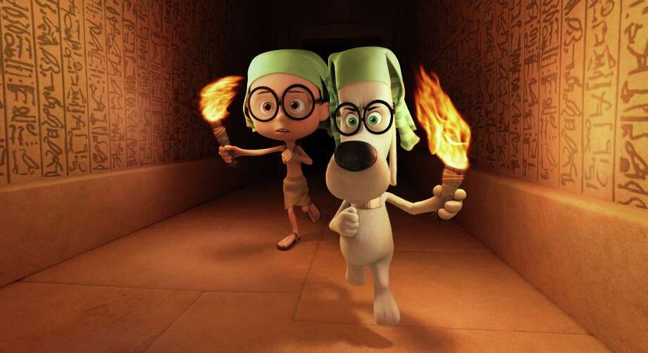 "Take your kids to a showing of ""Mr Peabody & Sherman"" on Saturday or Sunday for only $2.00 at Edmond Town Hall in Newtown. Click for showtimes.  Photo: HOEP / DreamWorks Animation"