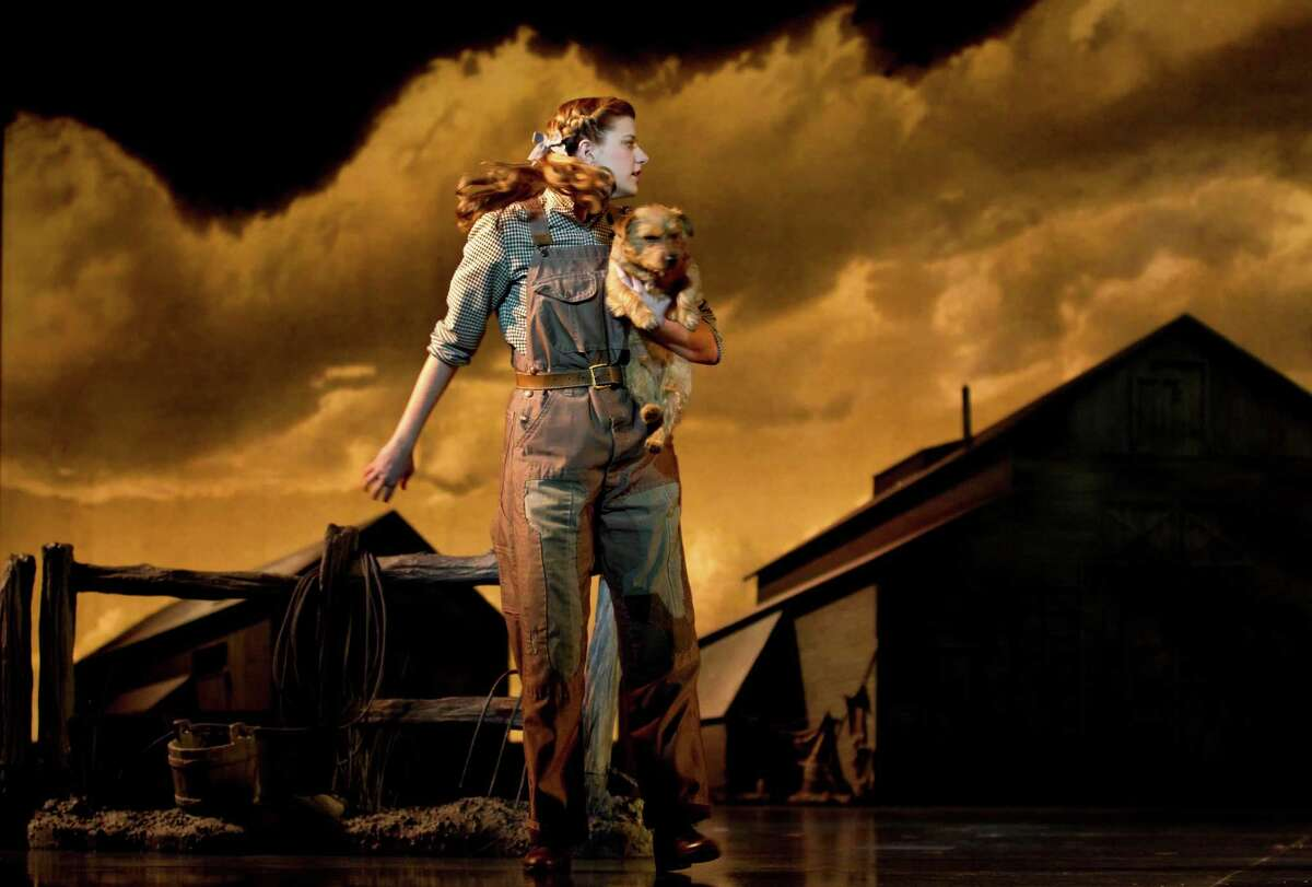 Danielle Wade capably fills Judy Garland's ruby slippers as Dorothy, and Nigel makes a fine Toto.