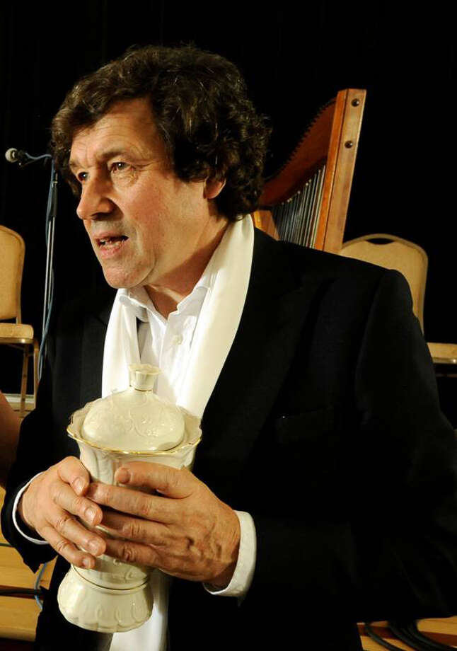 "Irish actor Stephen Rea will be reading the ""Cyclops"" section of the James Joyce novel ""Ulysses"" at Fairfield University's Quick Center on Wednesday, March 19. Photo: Contributed Photo / Connecticut Post Contributed"