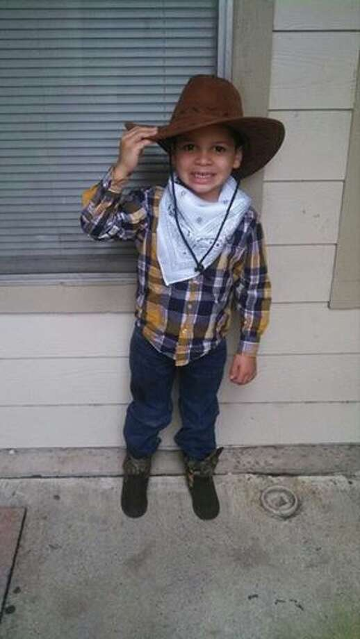 My son dressed up for Go Texas Day at school. He loves being a cowboy!Amy Vick