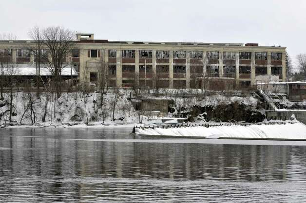 A view of the former GE plant near the Hudson River on March 25, 2014 in Hudson Falls, NY. (Paul Buckowski / Times Union) Photo: Paul Buckowski