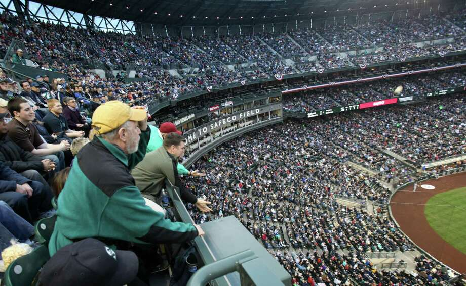 Trap: Mariners baseballI say this as a long-suffering fan who dons Mariners gear come Opening Day and every week thereafter, but going to a game is hardly worth it anymore. Once the team faded and then the novelty of the once-spankin'-new Safeco Field wore off, the stadium became a racket, peddling ever-more-expensive tickets and food to see what no one can really call Major League baseball.Even true fans get the urge to drink by the fourth inning, but can't because a crappy domestic brew is $12. What happened to the $6 tall boys at the Hit it Here Cafe?! Photo: Seattlepi.com File Photo / SEATTLEPI.COM