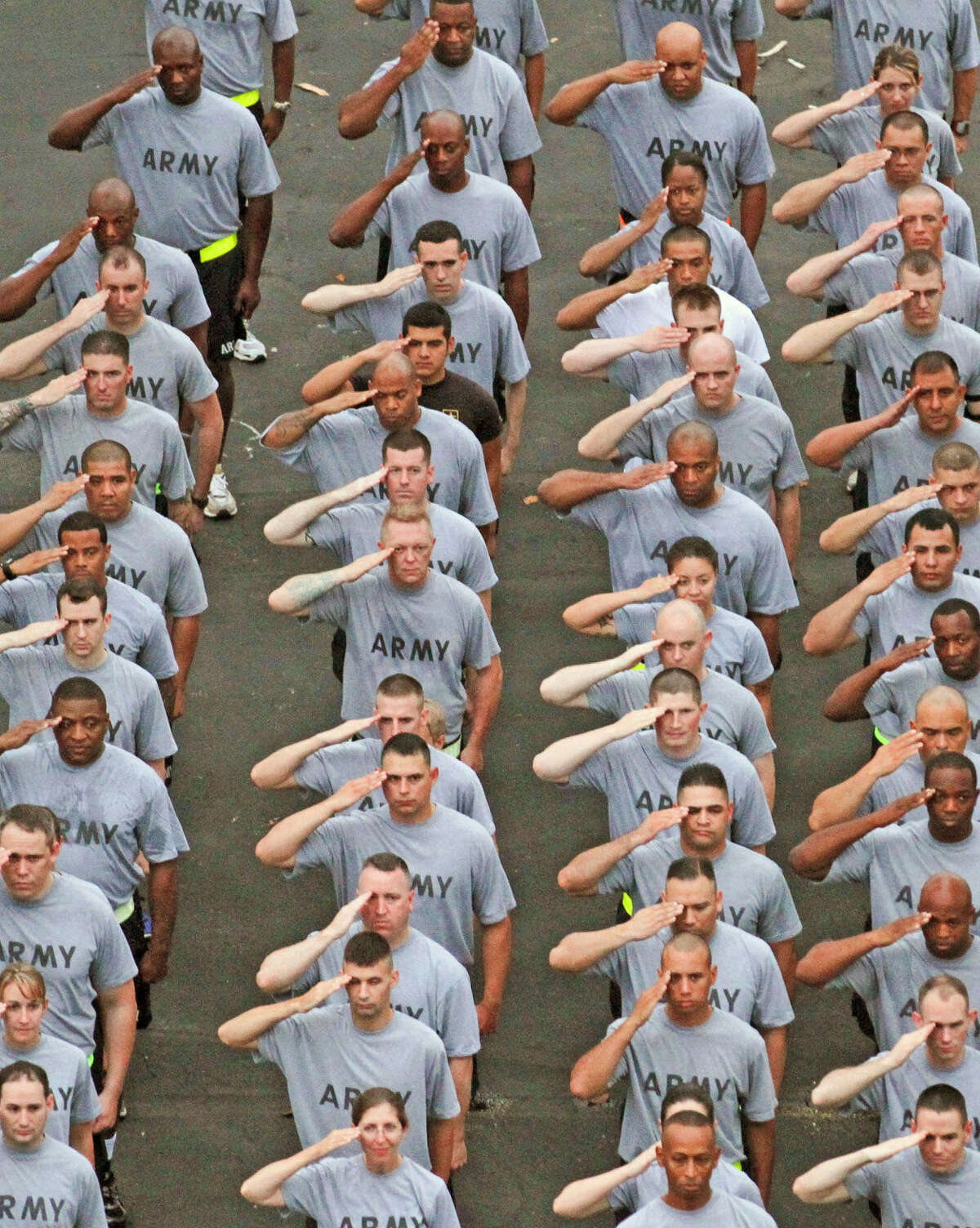 Soldiers from Joint Base San Antonio-Fort Sam Houston train in this file photos from San Antonio.