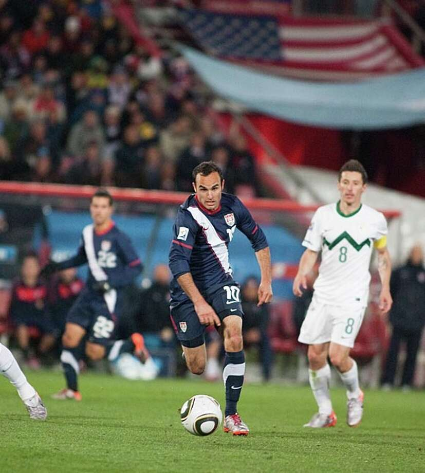 The U.S. Men's National Team and Landon Donovan will start its road to 