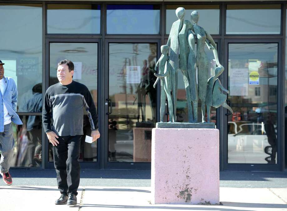 Port Arthur Police are investigating the February theft and destruction of the statue that once greeted guests of the port Arthur Library. The $120,000 statue was recently located in several pieces. Photo taken October 29, 2012 Enterprise file photo Photo: Guiseppe Barranco, STAFF PHOTOGRAPHER / The Beaumont Enterprise
