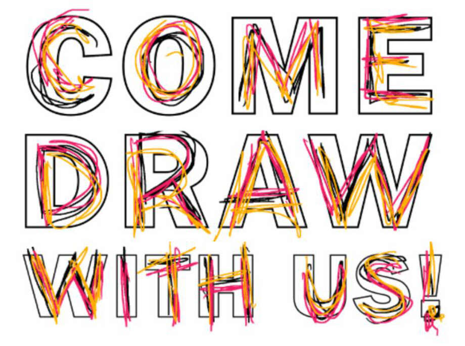 Stamford (Conn.) Loft Artists Association will host a 'Draw On!' community event for two Saturdays, March 15 and 22, 2014. The free events will encourage participants to express their creativity through original drawings. It is part of a larger event hosted by the Aldrich Contemporary Art Museum. Photo: Contributed Photo / Stamford Advocate Contributed