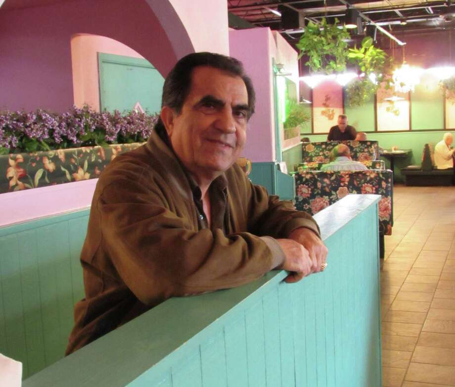 H.D. Hosseini, longtime owner of El Maracumbe Mexican restaurant, is a former Iranian delegate to the United Nations. Photo: Burt Henry / San Antonio Express-News