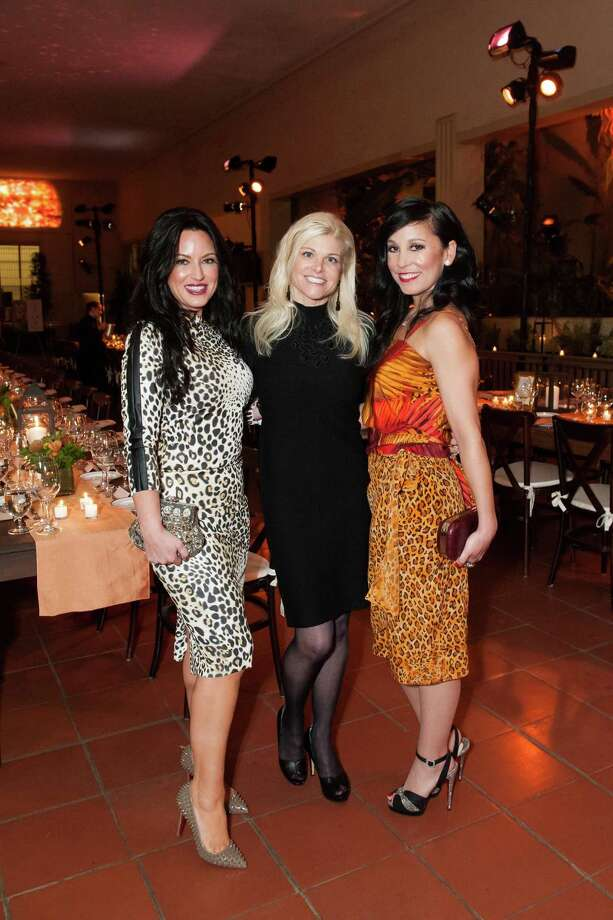 Corey Hyde, Lori Shigekane and Michelle Molfino at Zootopia 2014 in the San Francisco Zoo's historic Lion House on February 26, 2014. Photo: Susana Bates For Drew Altizer, Drew Altizer Photography / Drew Altizer Photography