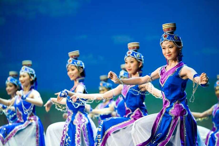 Classical Chinese dance company Shen Yun Performing Arts glides into Palace Theater, 100 E. Main St., Waterbury on Friday, March 7 at 7:30 p.m. and Saturday, March 8 at 2:30 p.m. and 7:30 p.m. 203-346-2000, www.palacetheaterct.org.