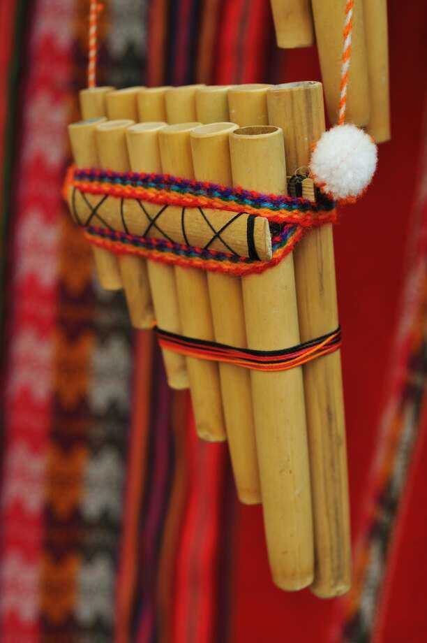 The traditional Andean flute, or quena, from Peru. If you decide to visit the Stepping Stones Museum for Children in Norwalk on Saturday, March 8, make sure to save time for the Around the World performance series from 2 to 2:30 p.m. when participants will explore ancient Incan traditions of the Peruvian Andes through song and dance. There will be traditional instruments and costumes. For admission information, visit www.steppingstonesmuseum.org, 203 899 0606. Photo: Francisco Romero, Getty Images