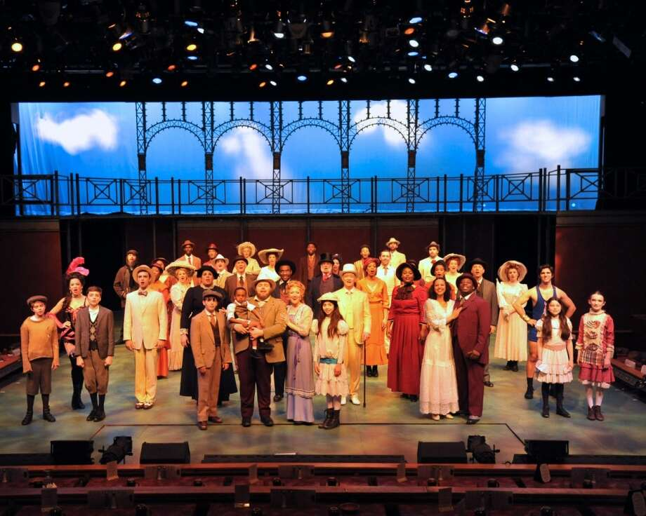 """Ragtime"" takes the stage now through May at the Westchester Broadway Theatre, 1 Broadway Plaza, Elmsford, N.Y. Call or visit website for times and tickets ($67 buys you dinner, the show and parking). 914-592-2222, www.broadwaytheatre.com."
