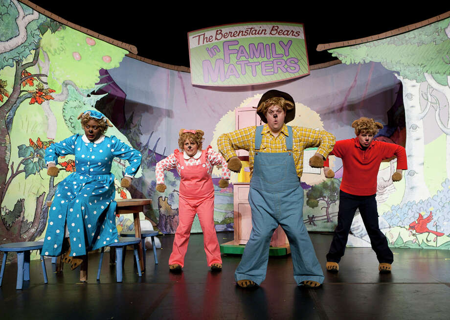 The Berenstain Bears Live in Family Matters arrives at the Ridgefield Playhouse, 80 E. Ridge, Ridgefield, on Saturday, March 8, for shows at 11 a.m. and 2 p.m. Call 203-438-5795 or visit ridgefieldplayhouse.org. Photo: Contributed Photo/Aaron Epstein / ©2009 by Aaron Epstein