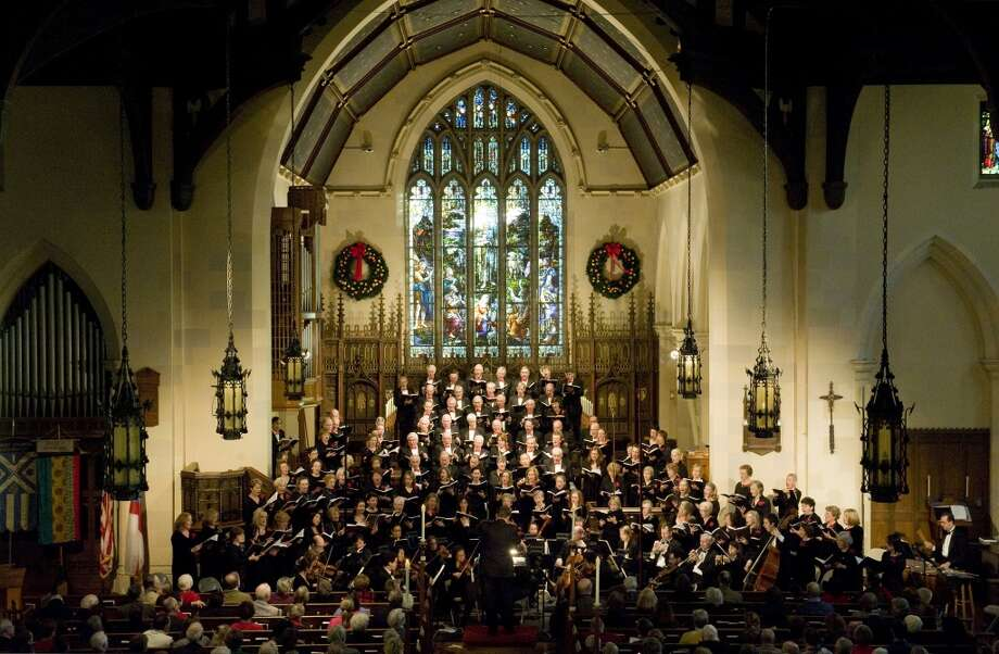 "The Greenwich Choral Society will feature Gioachino Rossini's Petite Messe Solonnelle during its ""From Stage To Sanctuary"" concert at Christ Church Greenwich, 254 E. Putnam Ave., at 4:30 p.m. on Saturday, March 8. Tickets are $28 to $38 (free for those 12 and under accompanied by an adult.) tickets@greenwichchoralsociety.org, 203-622-5136. Photo: Contributed Photo"