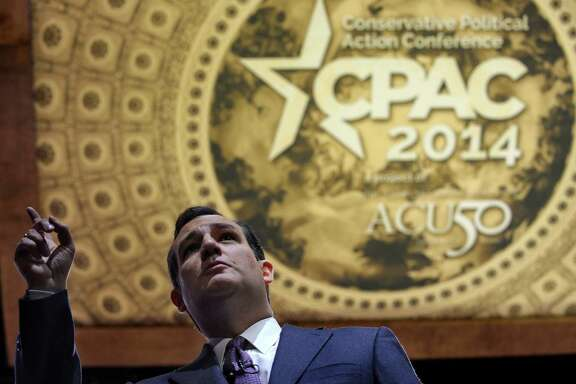 Sen. Ted Cruz, R-Texas, stirs passions at the annual Conservative Political Action Committee annual conference Thursday in suburban Washington, D.C.
