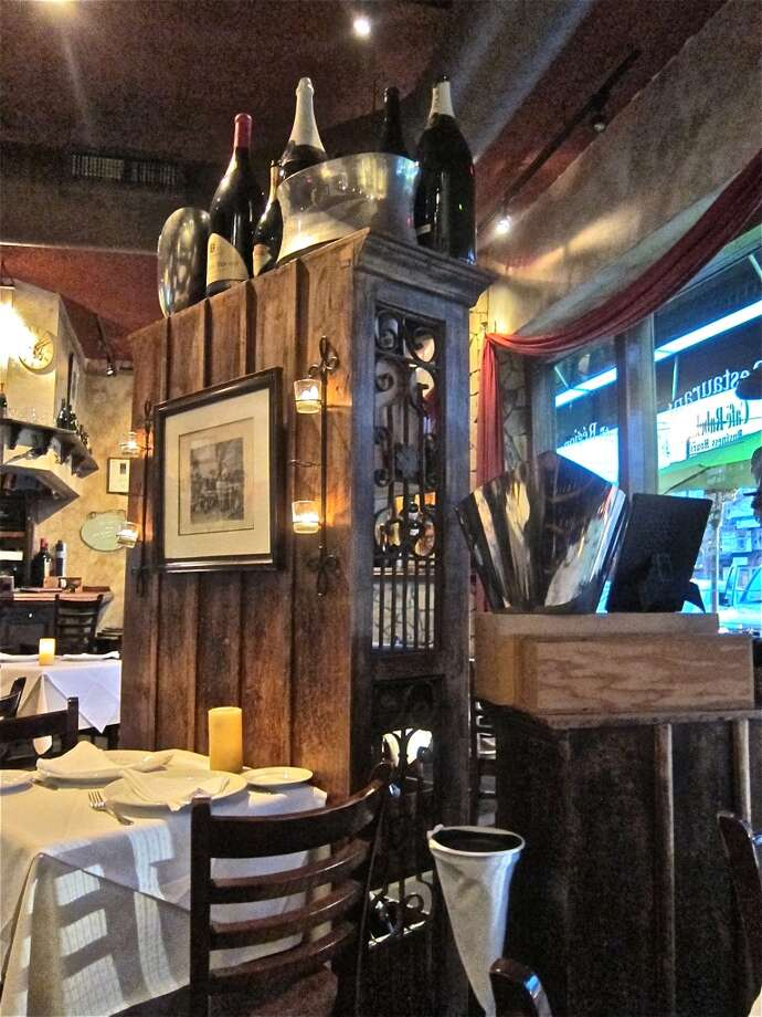 The dining room at Cafe Rabelais in Rice Village. Photo: Alison Cook