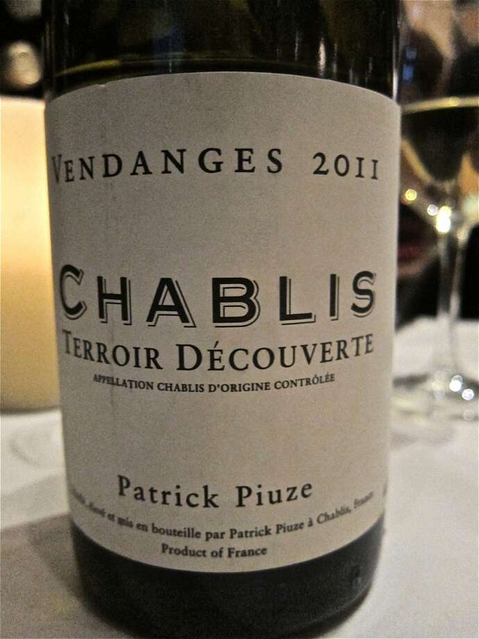 A prize from the all-French wine list at Cafe Rabelais. Photo: Alison Cook